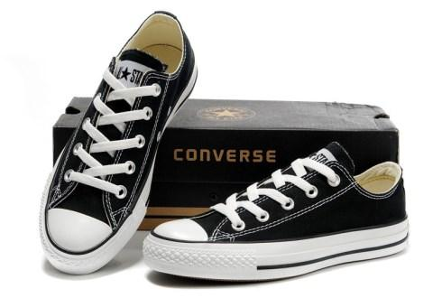 Sepatu Converse All Star Original Hitam Putih Sneakers Casual