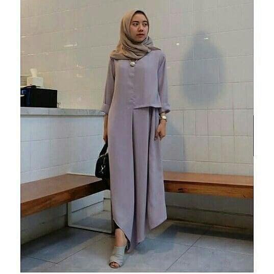 Baju Muslim Original Blouse Inul Tunik Blus Baju Panjang Wanita Pakaian  Modis Casual Modern Baju Kerja fedfb7a382