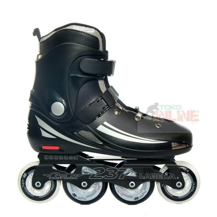 Sepatu Roda Labeda 237 Slalom Inline Skate - Black