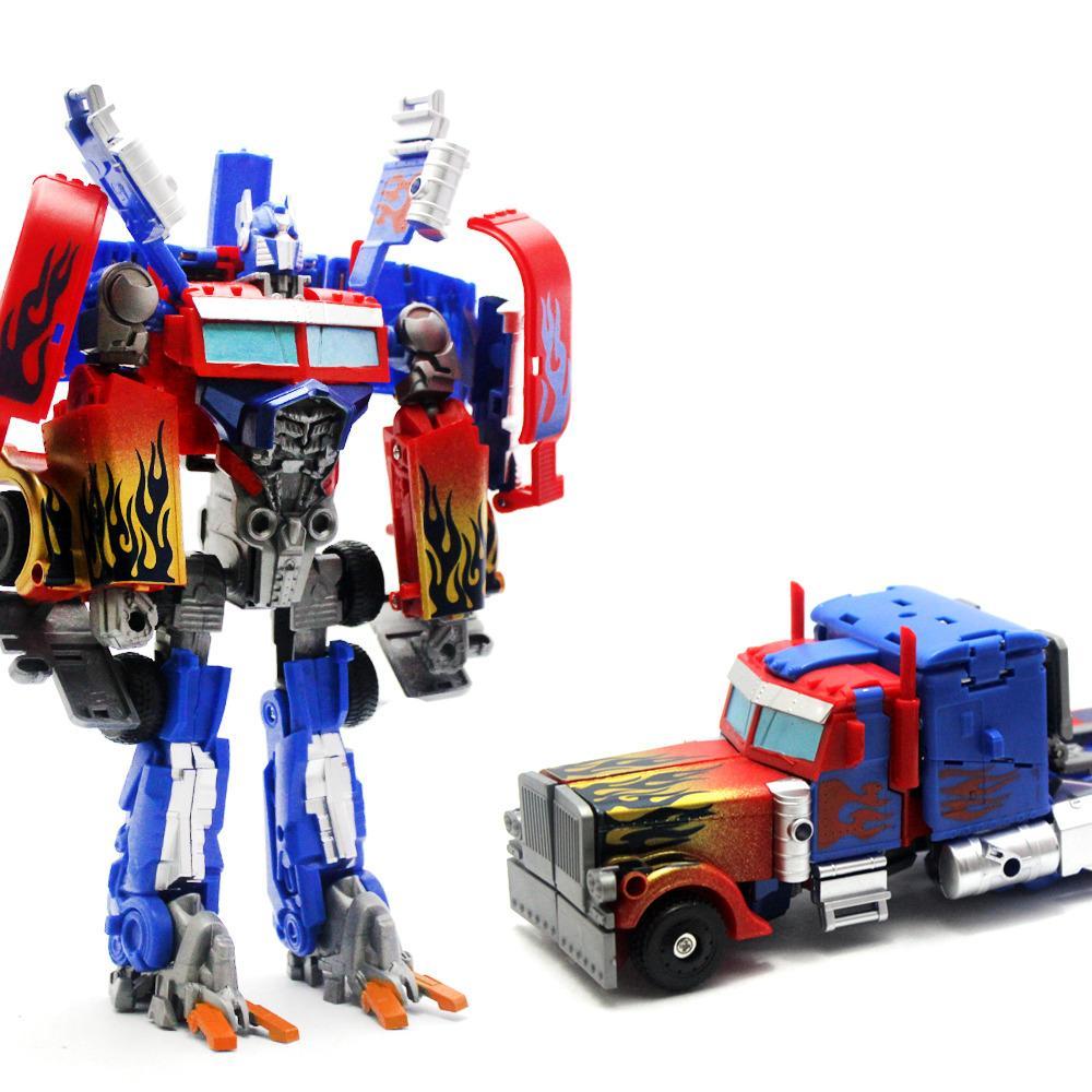 Mainan Robot Transformer Optimus Prime Interchange