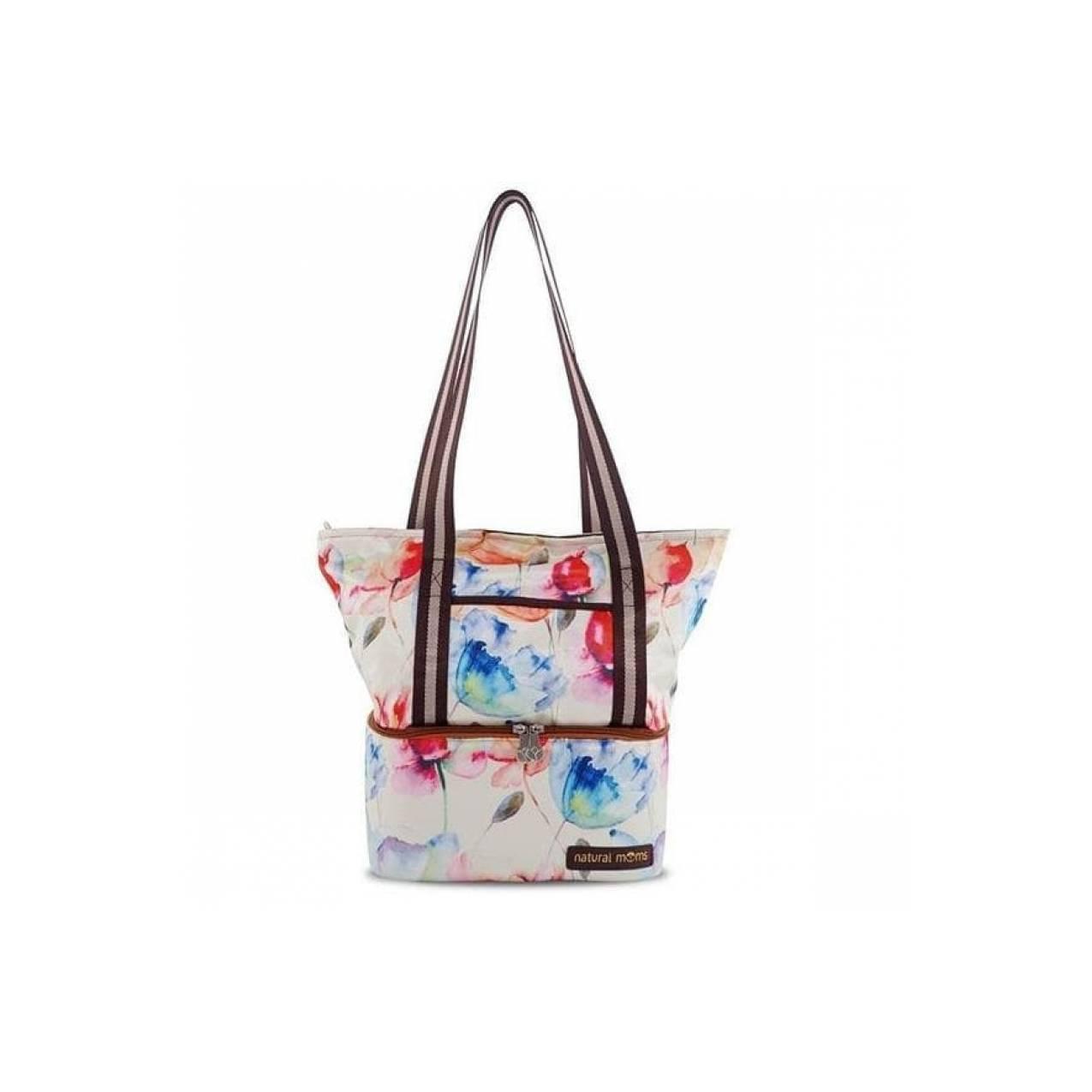 Natural Moms Cooler Bag Tote Korean Bloom