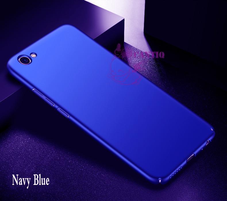 QCF Case Vivo Y67 Hard Slim Blue Mate Anti Fingerprint Hybrid Case Baby Skin Vivo Y67 / Baby Hardcase Vivo Y67 / Baby Skin Vivo Y67 / Casing Vivo Y67 / Case Vivo Y67 - Biru / Blue