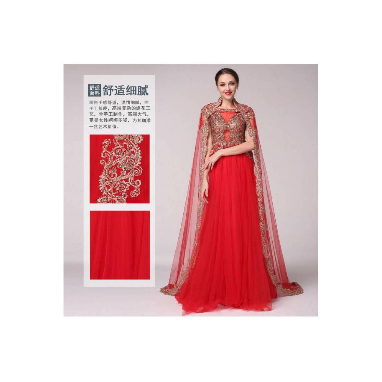 TS ZH241 Gaun Kebaya Modern Gaun Pengantin Wedding Muslim Import