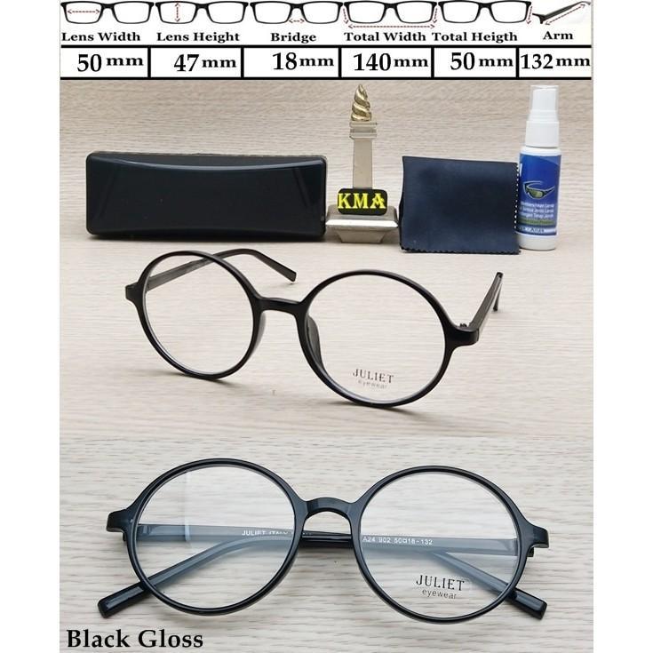 kacamata MINUS GRATIS BISA GANTI LENSA minus ANTI RADIASI DAN UV Frame kacamata bulat boboho Variasi BROWN