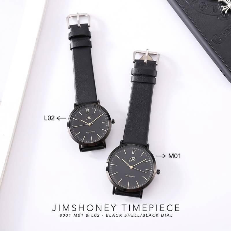 JH WATCH KODE 8001 - Jam tangan pria dan wanita ( unisex / couple ) import JIMS HONEY ORIGINAL (FREE BOX & WATER RESISTANT)