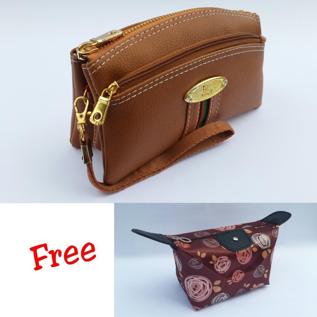 Lufas T802 Dompet wanita terbaru lazada / dompet wanita / model dompet wanita / dompet wanita kulit / dompet wanita terbaru / dompet hp wanita / dompet branded wanita / dompet wanita murah