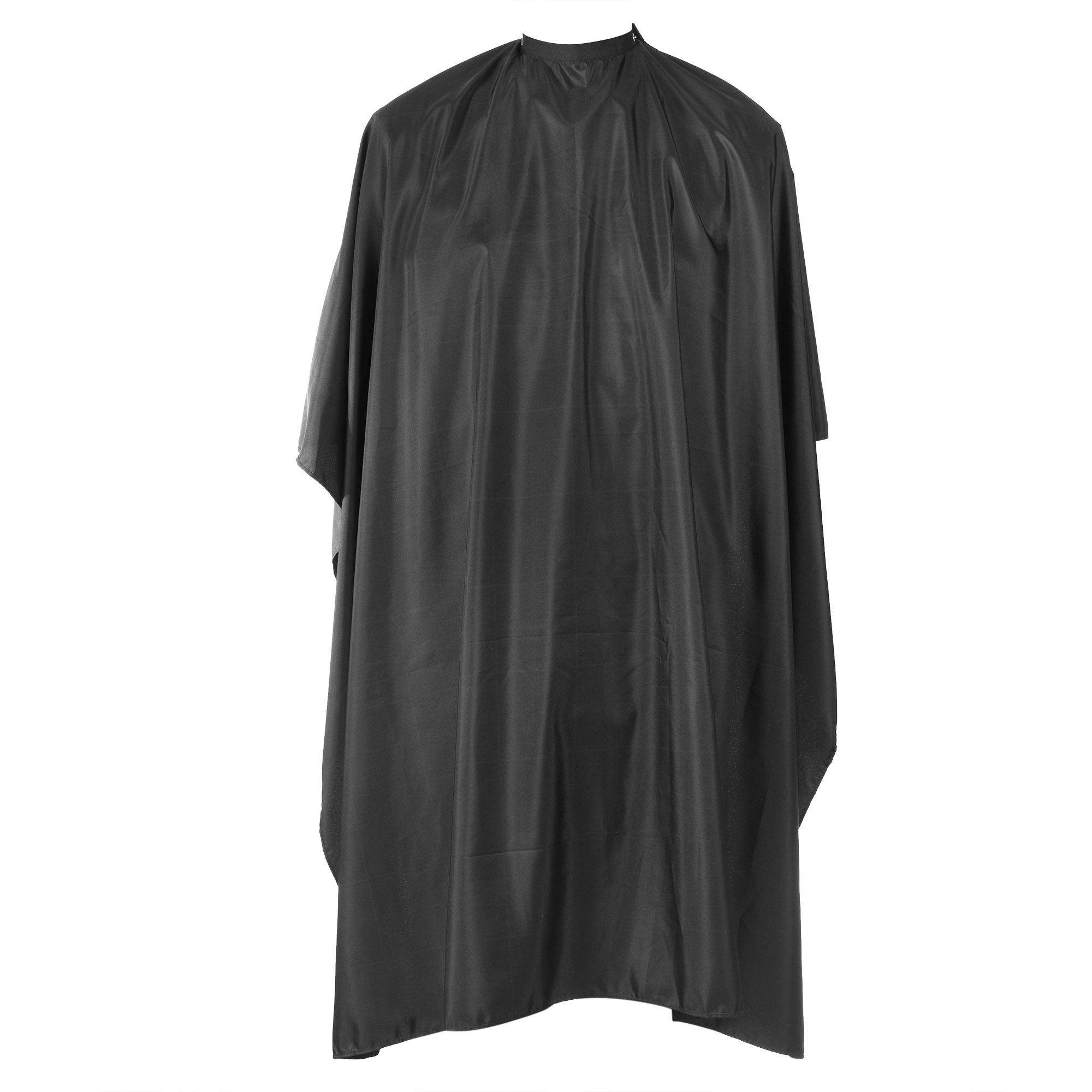 Lightning Power-Waterproof Barber Cape Salon Cape Hairdresser Cape for Barbershop and Beauty Shop(Black)
