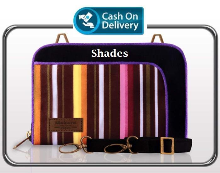 SaShe Store - Makara Premio Organizer Midili (MPO Midili) Incardine, Zaffre, Shades, Lusty, Gingger Line, Rainbow Dompet/Tas Selempang Slempang Wanita untuk Uang/HP/Tablet 7 inch - 17936