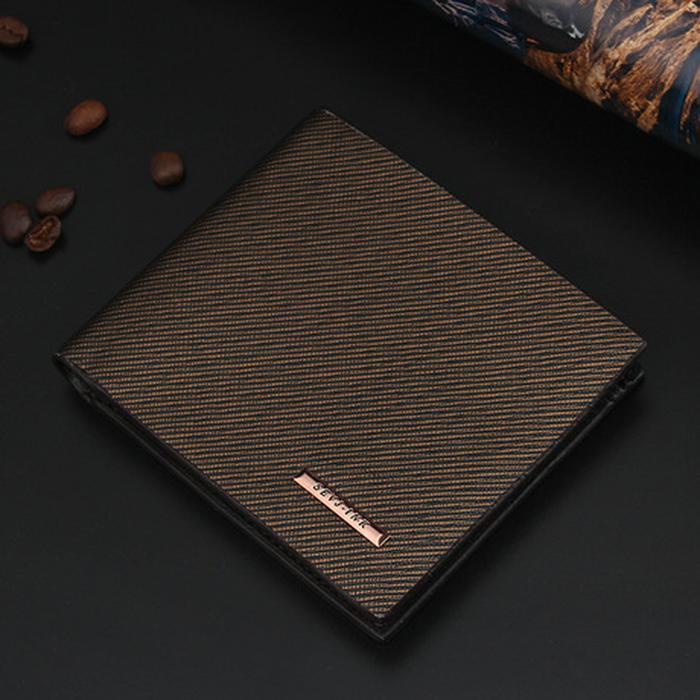 Dompet kulit pria best sellet / dompet cowok / Dompet import