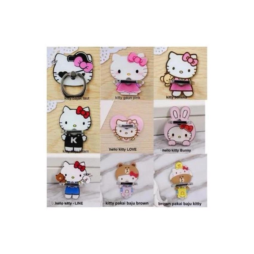 iRing/Ring Stand Hello Kitty Karakter Lucu Imut dan Cantik - NU0403