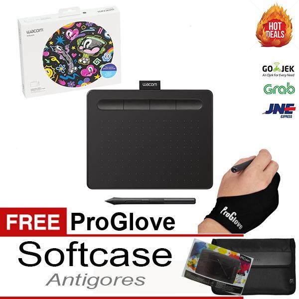 NEW Wacom Intuos CTL 4100 Drawing Tablet 4096 Pressure Bonus Lengkap