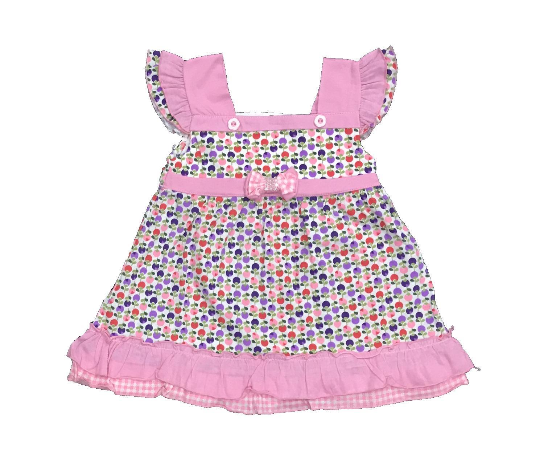 BAYIe - Baju Bayi/Anak Dress Perempuan motif CHERY YORABE usia 1 - 2 tahun / Pakaian anak Cewek
