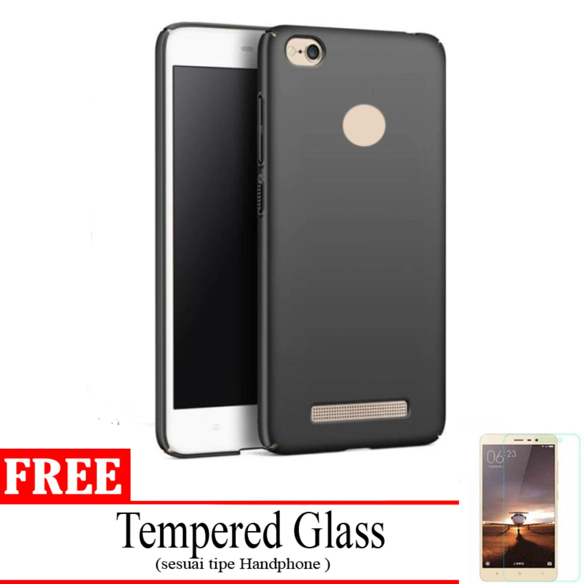 Jak Shop Case Black Moon Xiaomi Redmi 3/3S  Softcase (Anti Minyak) Bonus Tempered Glass