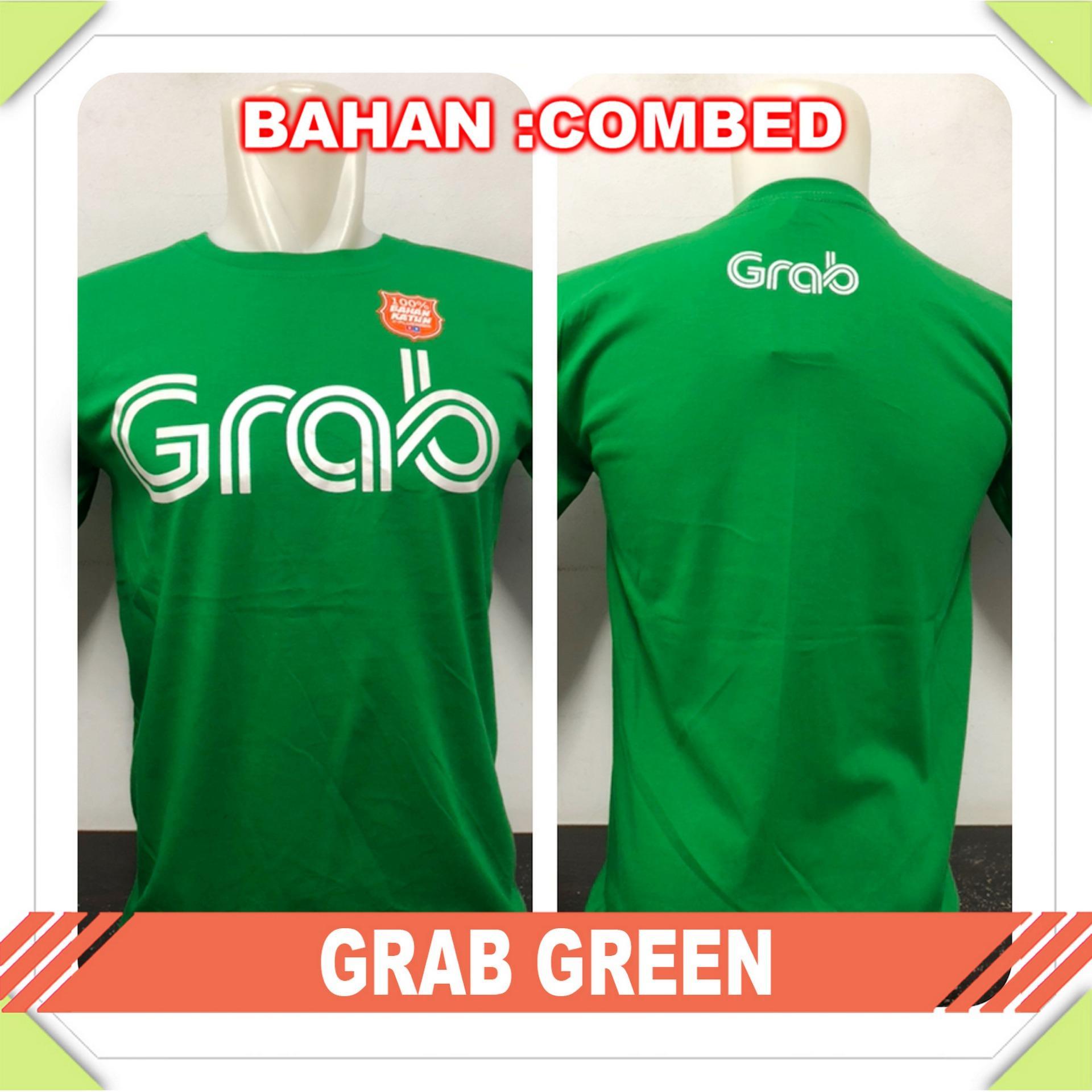 GraceStore - Kaos T-Shirt Distro / kaos Pria / Tshirt Pria / Distro Pria / Baju Pria G Rab - Hijau