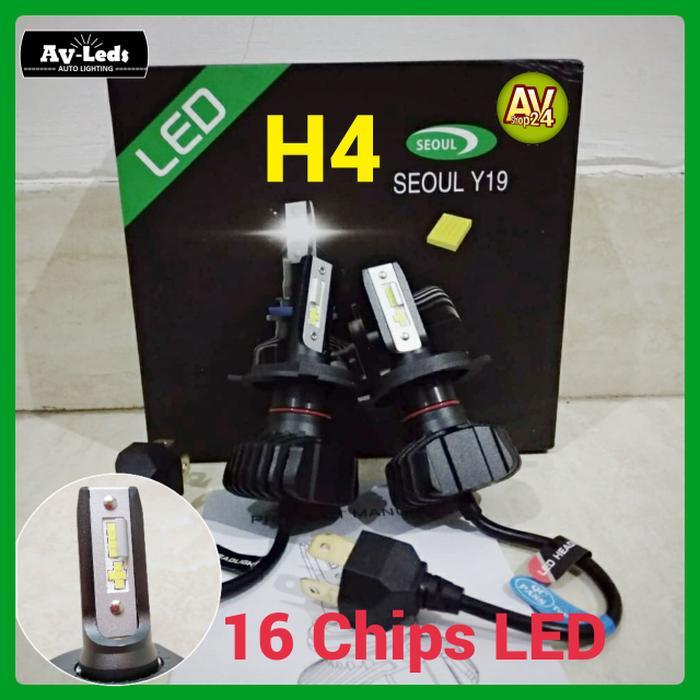 Best Quality LAMPU LED MOBIL H4 CSP S1+ Super Terang