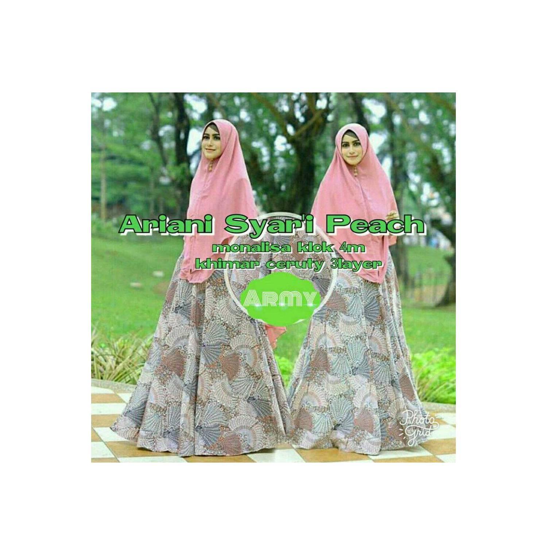 Wanita Muslim model baju muslim gamis terbaru dan modern ARIANI SYARI