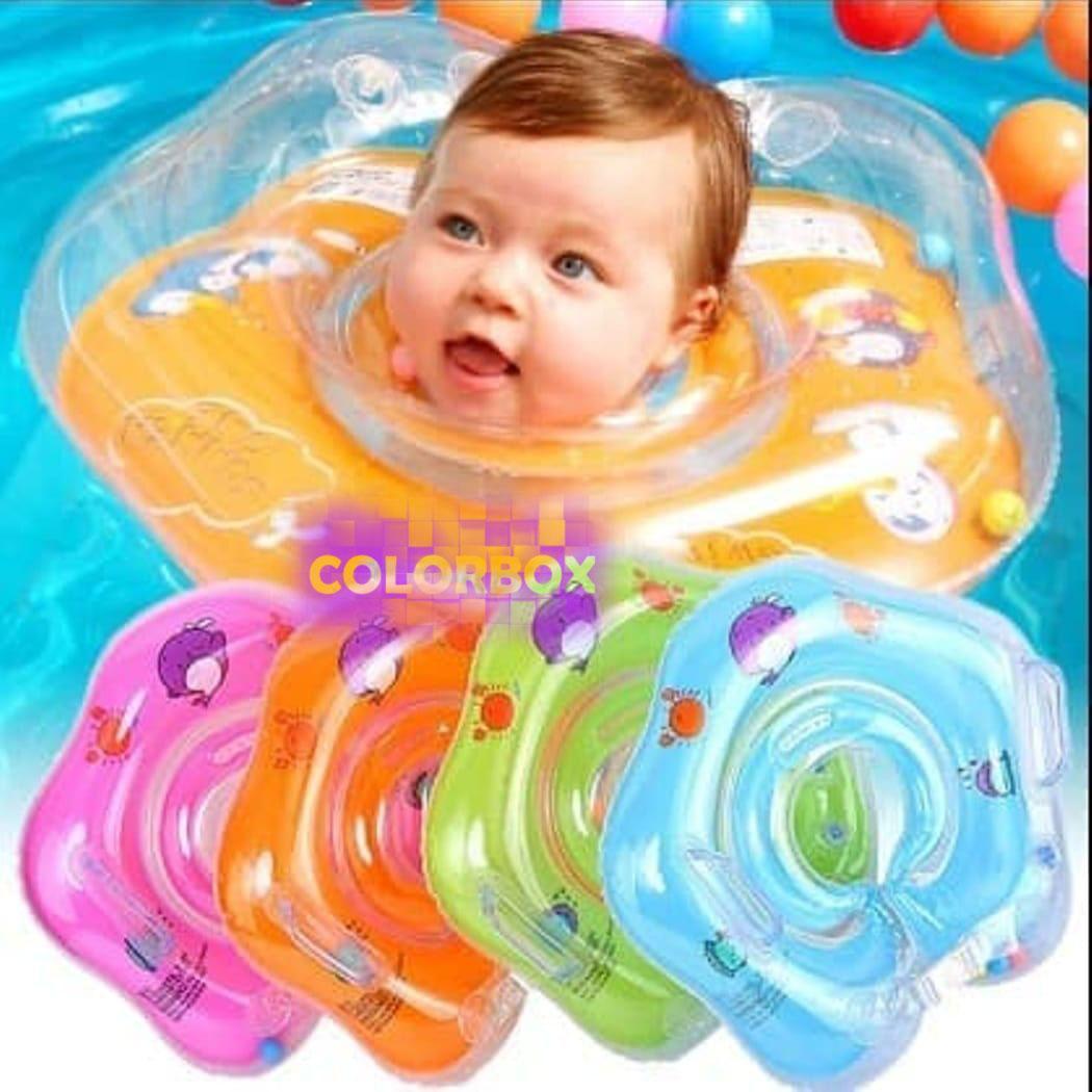MR Pelampung Leher Bayi Ban Renang Bayi Pelampung Bayi Swimming Neck Ring / Pelampung Leher Bayi