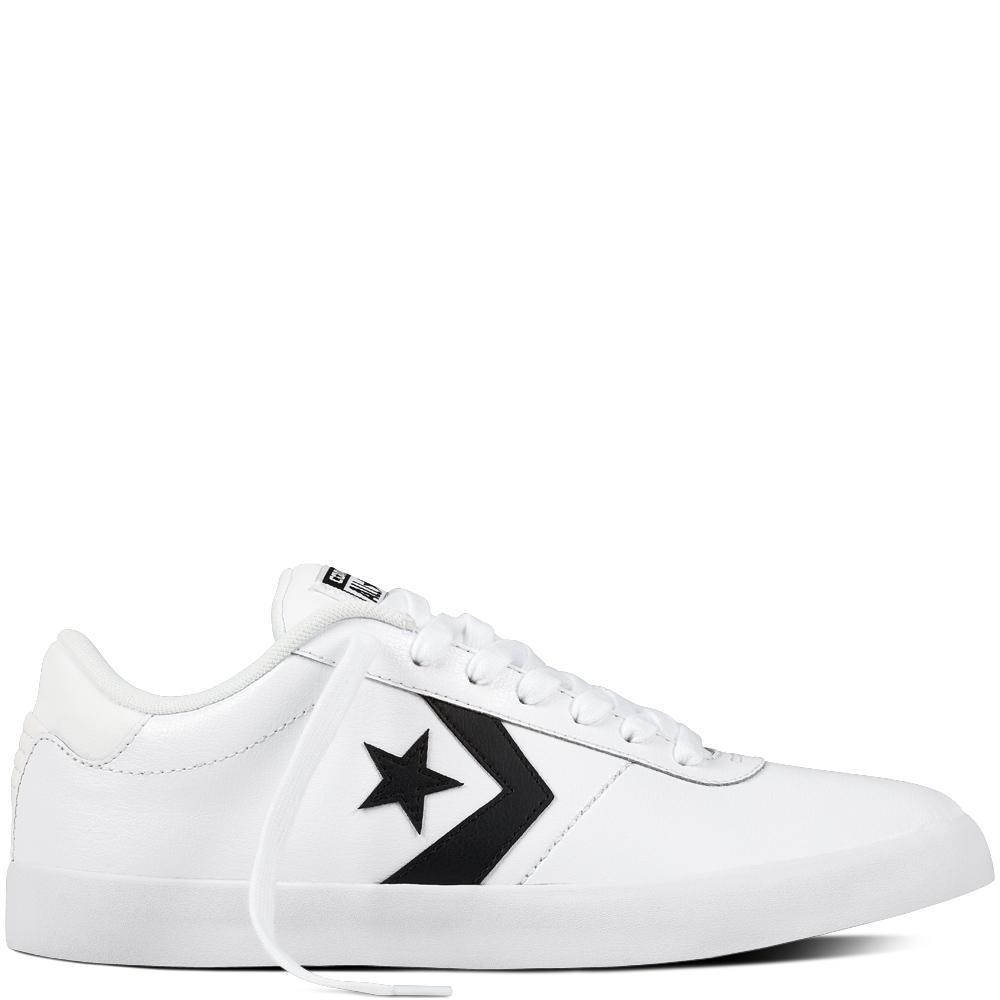 Converse Sepatu Point Star Ox Pria - Putih 4b5fc9d686