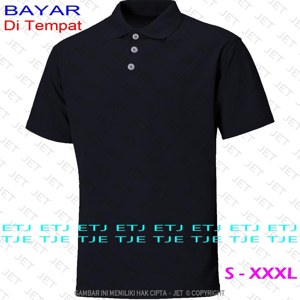 Super Polo JeT - Size Lengkap - STOK BANYAK - 22 Warna - Polo Shirt Fashion