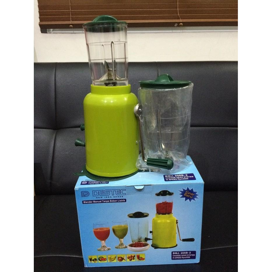 Destec Blender Tangan / Manual 2 Tabung - 2Dg1xv