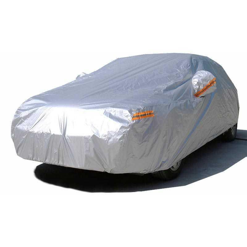 Best- seller / Sarung Cover Mobil Sedan Alumunium/Ukuran   Silver/Warna3XXL