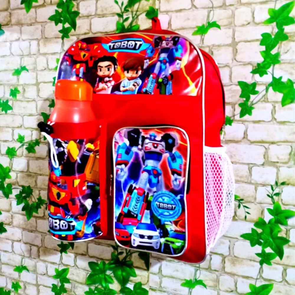 Jual Produk Tayo Terbaru Mainan Bus Garasi 1 Set 4 Pcs Tas Ransel Anak Murah Bahu Karakter Kartun Free Botol Minum Random