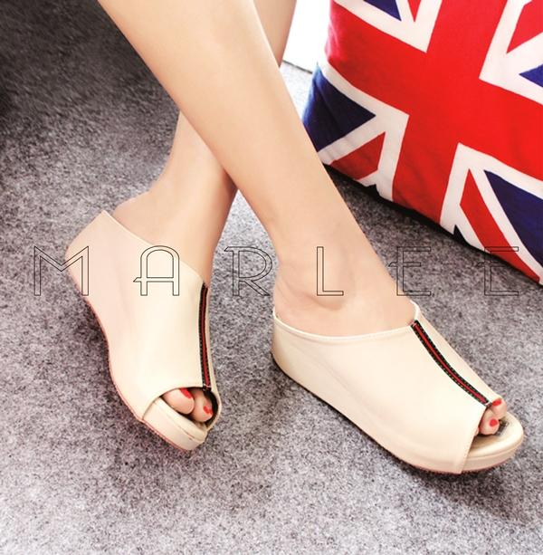 Sandal Wanita Wedges Everlasting Simple DK-10