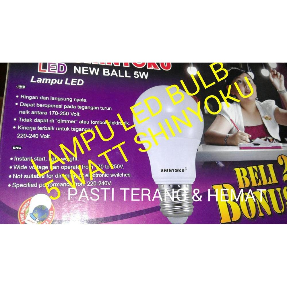 LAMPU LED BULB 5 WATT