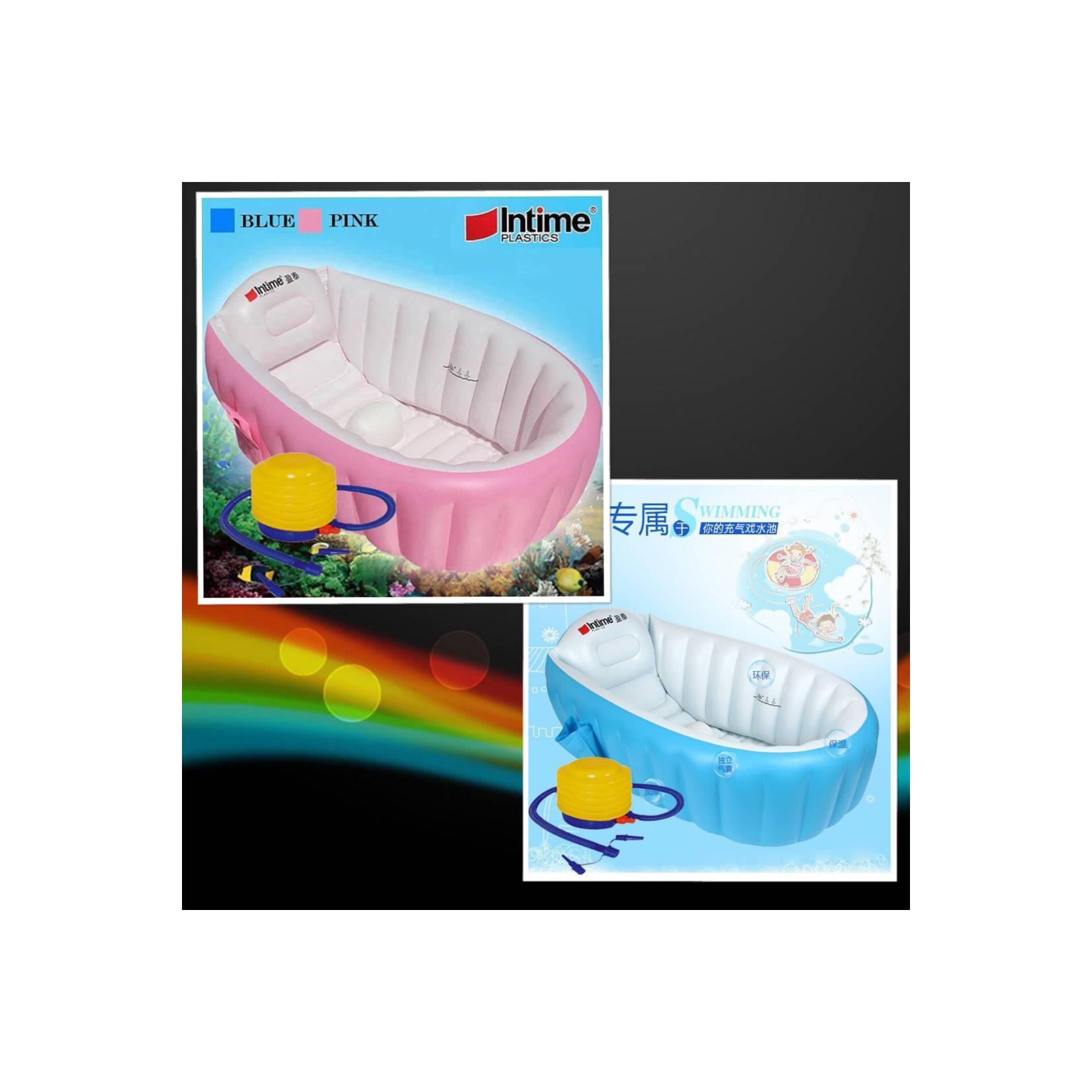 Buy Sell Cheapest Intime Tempat Mandi Best Quality Product Deals Baby Bath Tub Bak Bayi Kolam Pompa Angin