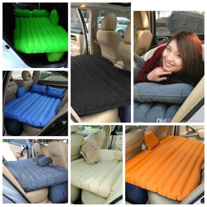 paling dicari KASUR BED MATRAS TEMPAT TIDUR MOBIL AIR BED PLUS BANTAL GREY AB01 terbaru terlaris