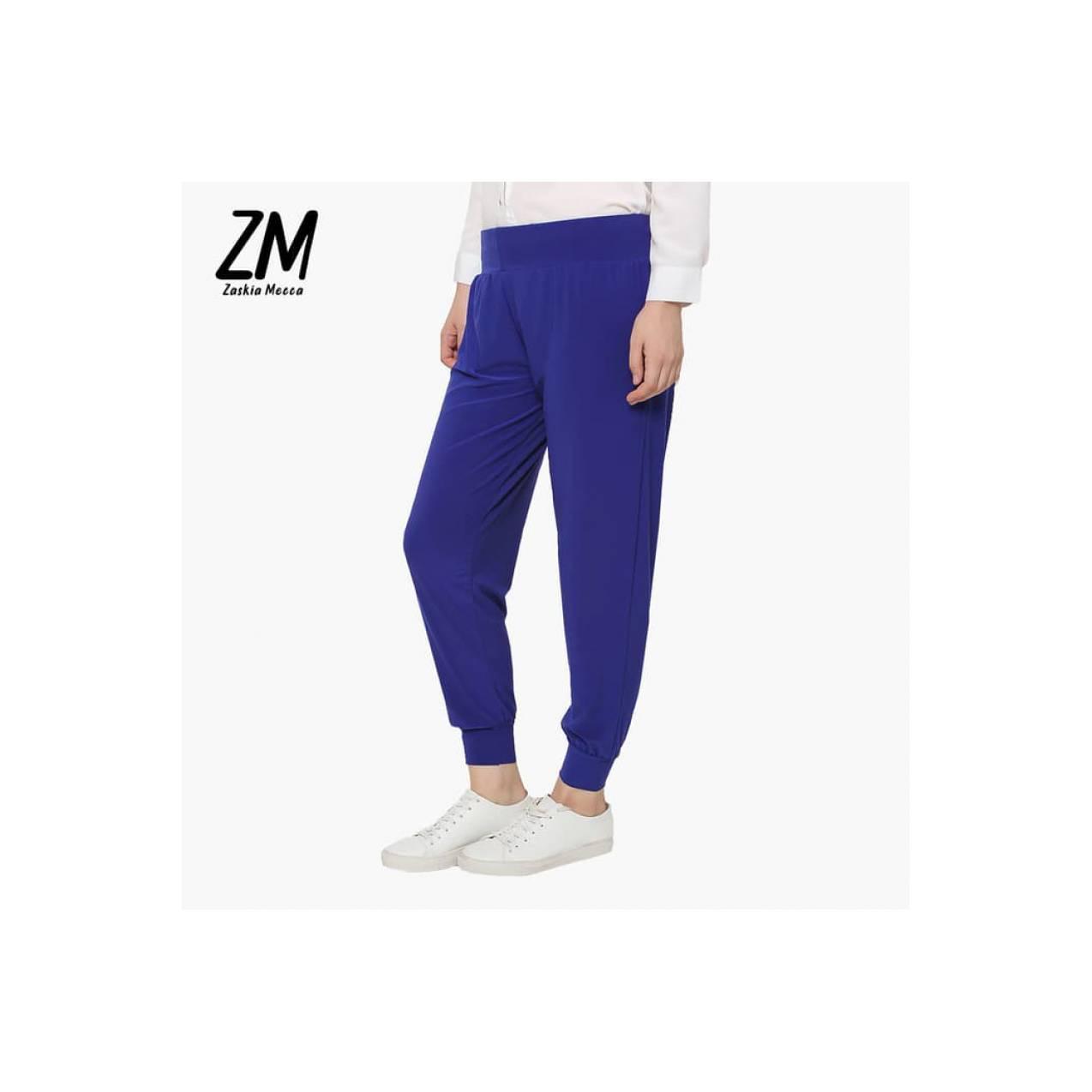Celana Legging TERBARU Zaskia Mecca - Kenny Light Blue Pants