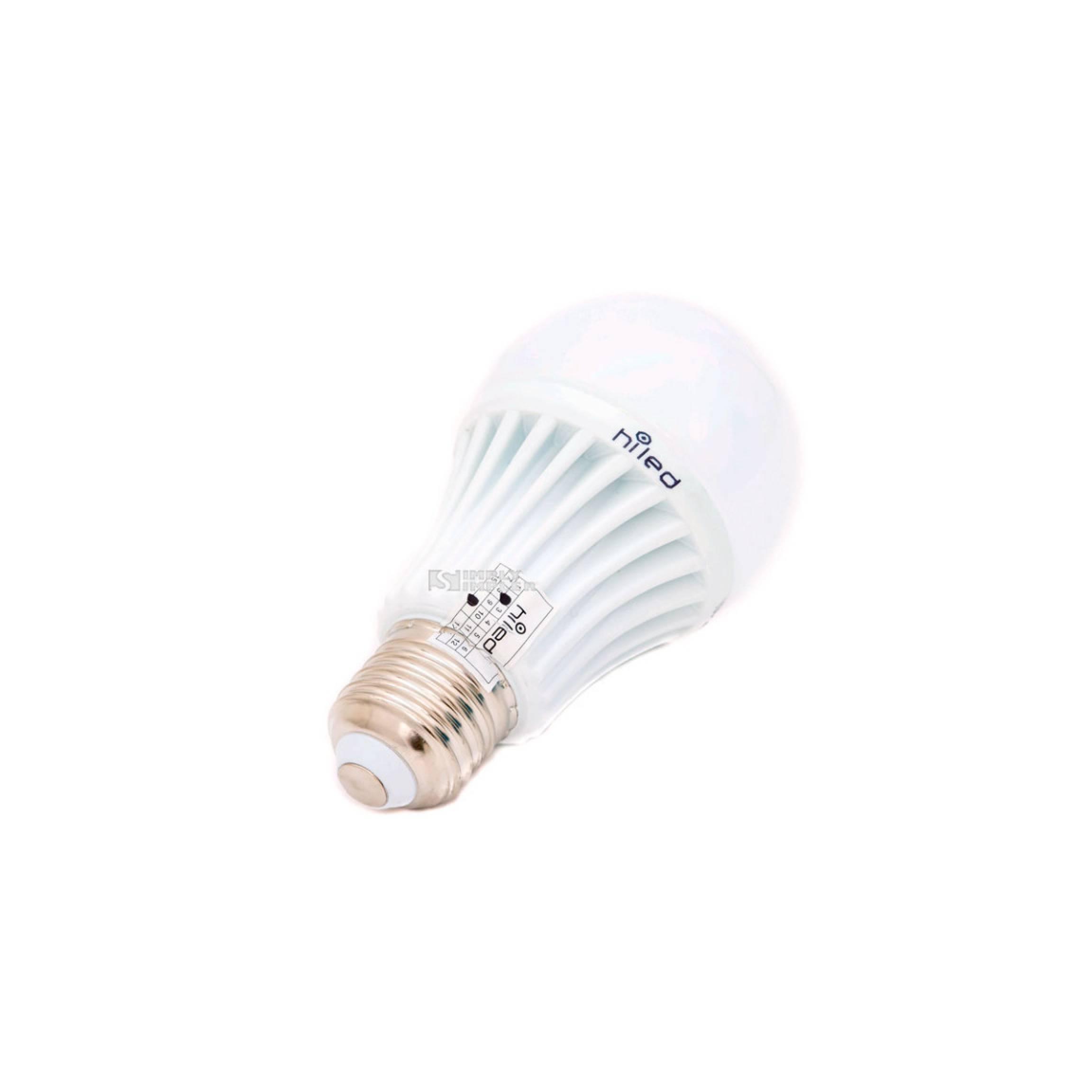 Hiled Bohlam Led Bulb 220v 5w White Non Dimmable Garansi 24 Bulan Lampu .