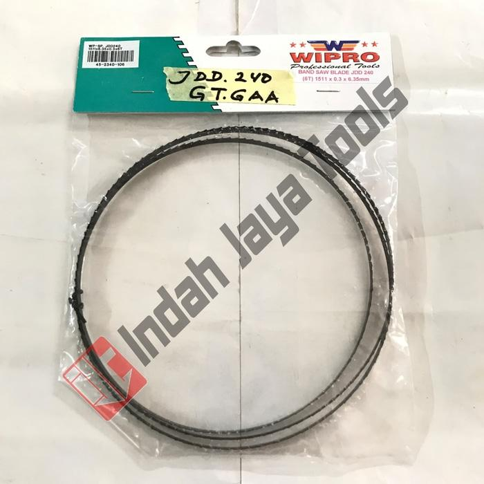 Mata Gergaji Mesin Band Saw Blade For JDD 240 Wipro