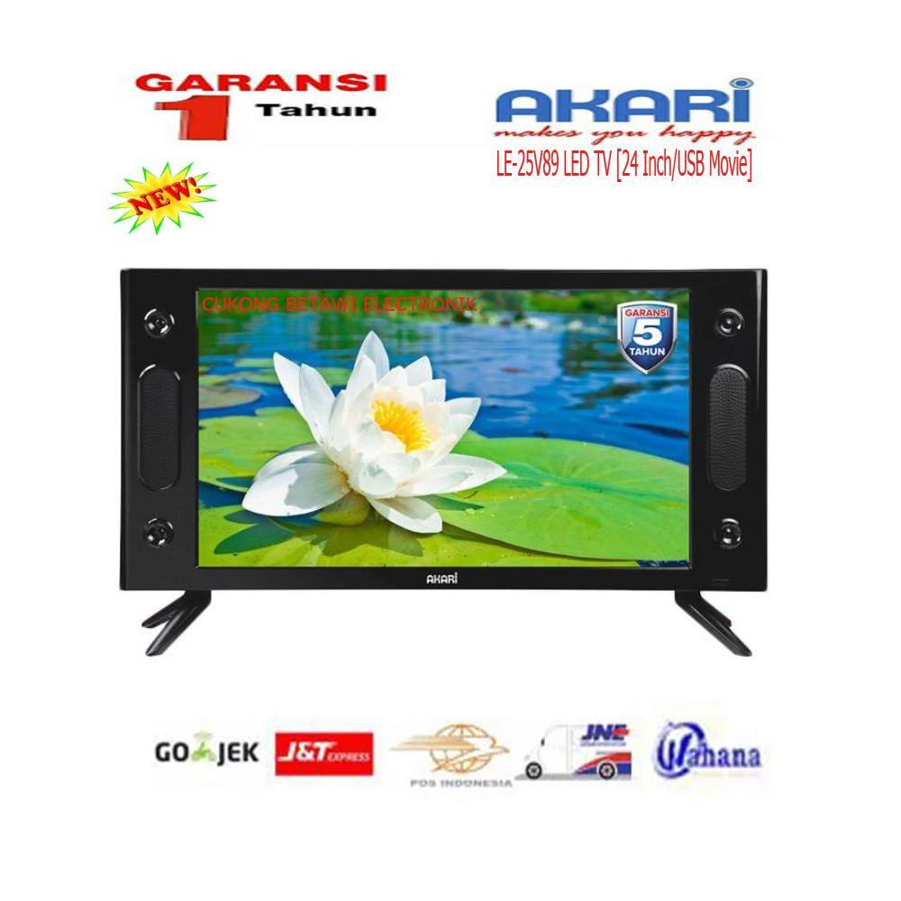 Akari 25V89 LED TV [25 Inch/USB Movie]
