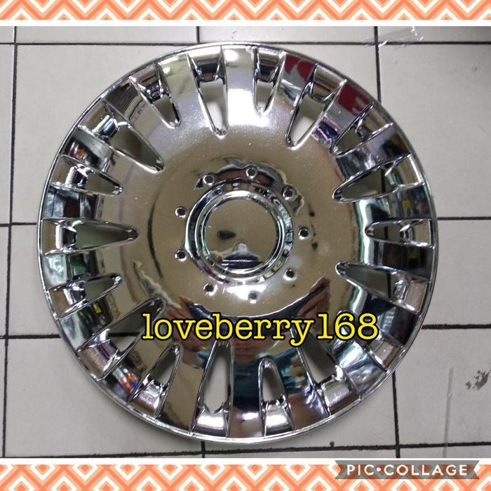 tutup velg dop roda wheel dop wheel cover chrome ring 14
