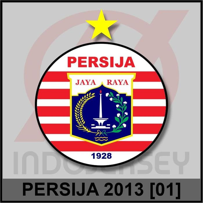 Best Top Seller!! Patch Badge Flock Liga Indonesia - Persija Jakarta 2013 01 - ready stock