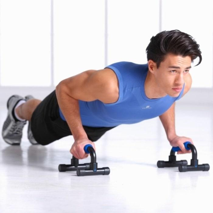 FLASH - Push Up Stand / Push Up Bar Alat Bantu Push Up Fitness Olahraga Hpo010