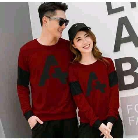 JS-Sweater Couple Forever   Sweater Couple Terbaru   Couple Murah   You Me  Forever ac57887cf2