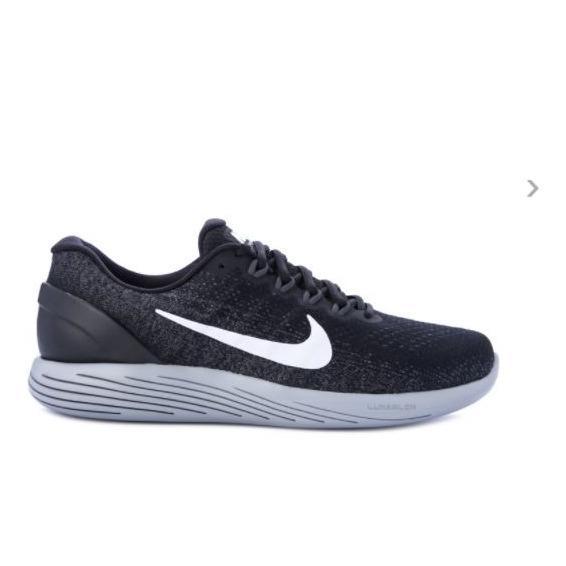 Nike LunarGlide 9 - Sepatu Pria - Hitam
