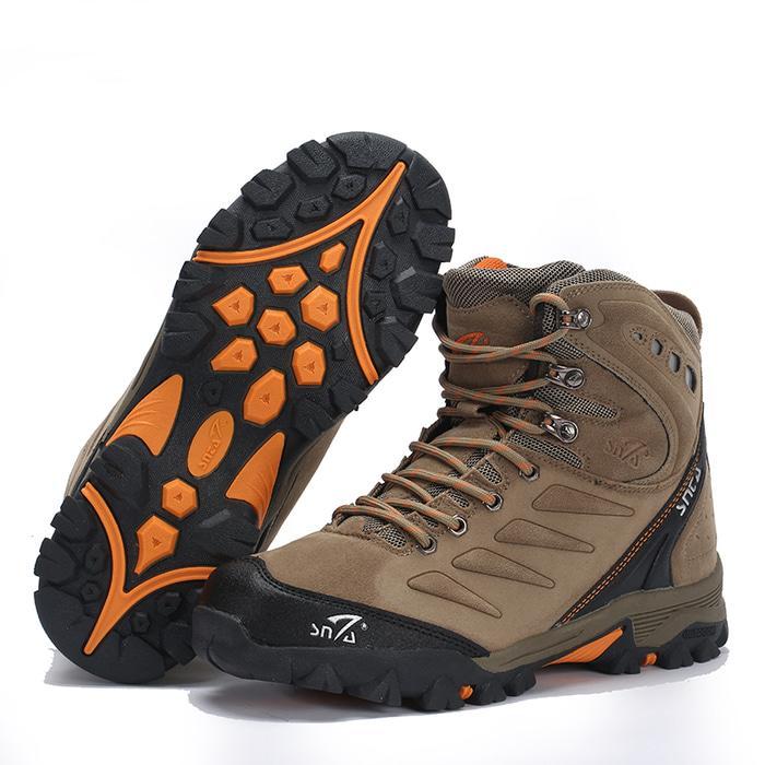 Sepatu Gunung Snta 477 Beige/Hiking/Adventure/Outdoor - WU2m51