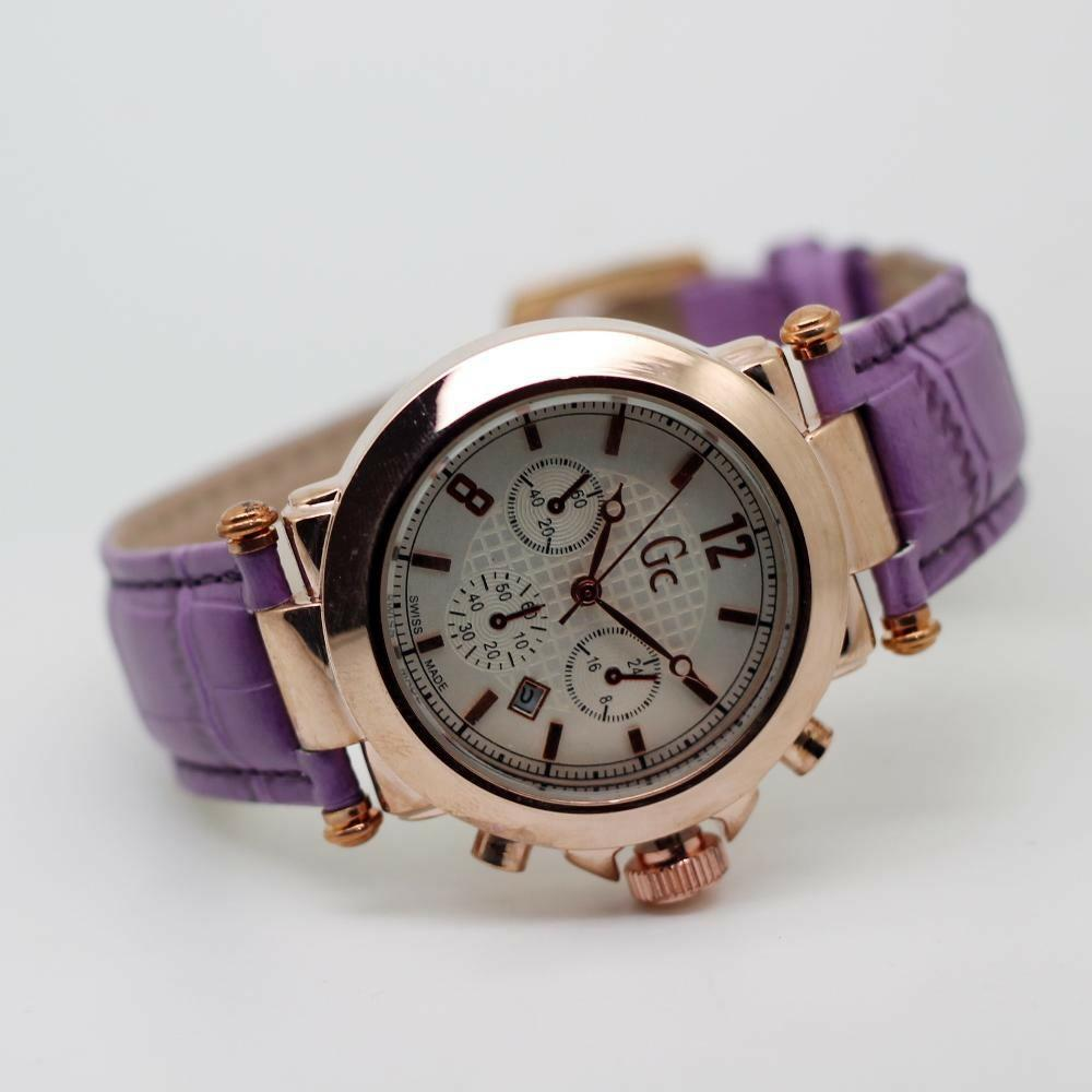 Guess Collection Gc Cablechic Y16003l3 Jam Tangan Wanita Stainless Rosegold Steel Y06009l7