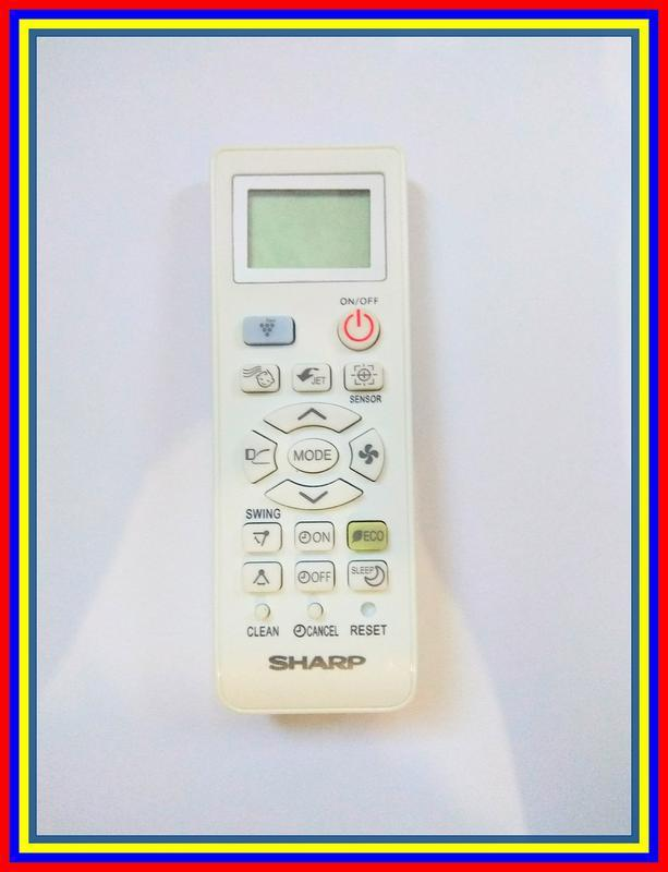 Remot Remote AC Sharp Ion Plasmacluster