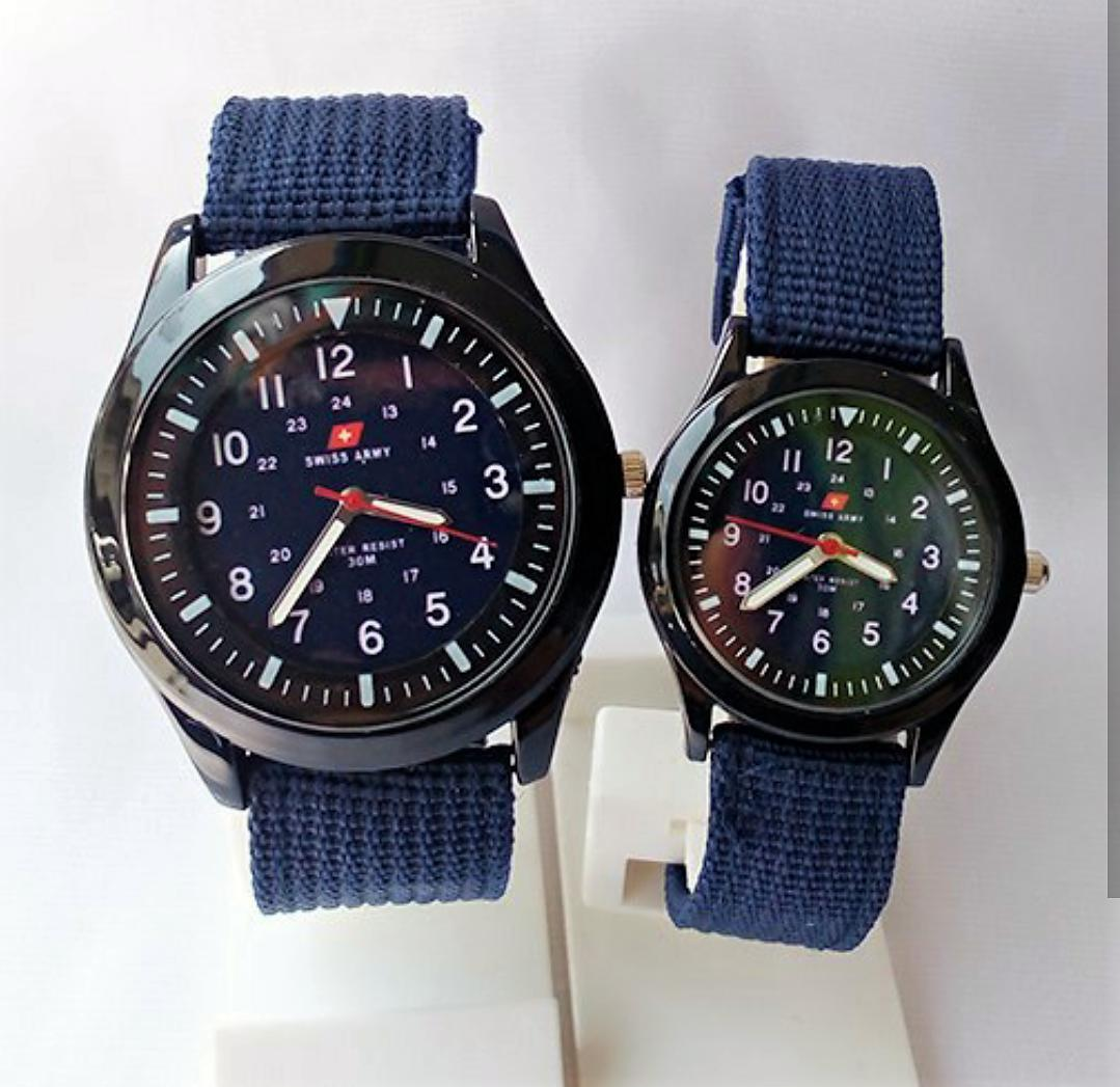 Buy Sell Cheapest Jam Couple Original Best Quality Product Deals Balmer B7903mb Tangan Pria Coklat Swiss Army Dan Wanita Canvas Kanvas Strap Nt9088sw