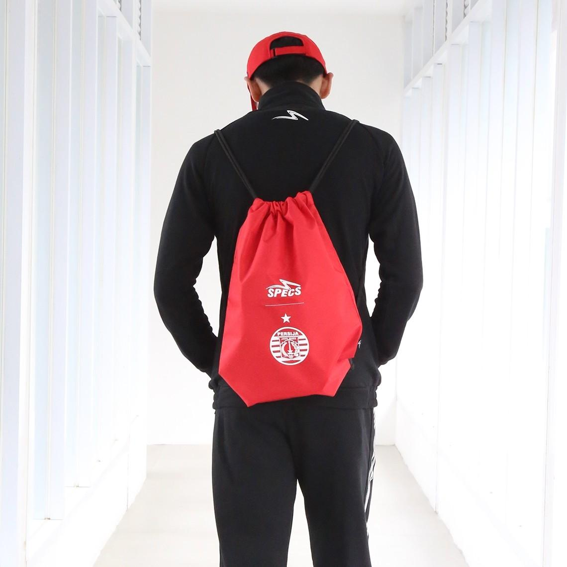 Specs Apparel Tas 903846persija 2018 String Bag Red - Red By Elanno Sport N Casual.