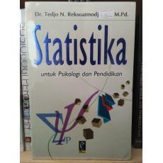 Buku Statistika Untuk Psikologi dan Pendidikan - Tedjo N. Reksoatmodjo