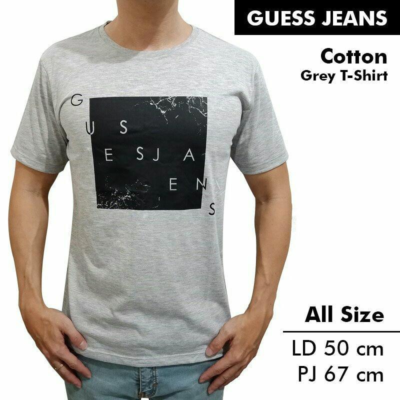 Kaos / Tshirt Guess Jeans Abu