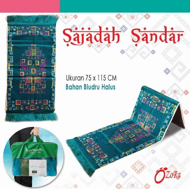 Pabrik Langsung Sajadah Sandar Premium Sandaran Turki Busa tebal Beludru FREE Tas Sajadah