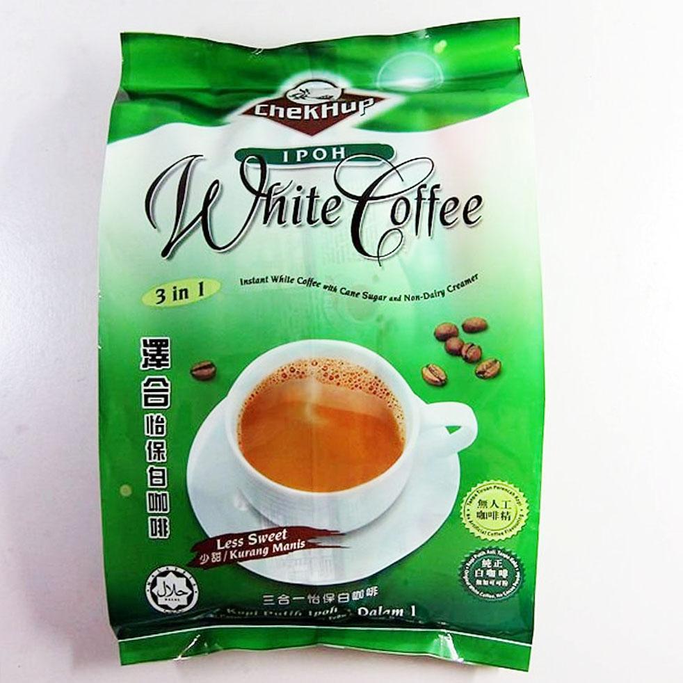 Kopi Chek Hup 3 in 1 Ipoh White Coffee - Less Sweet