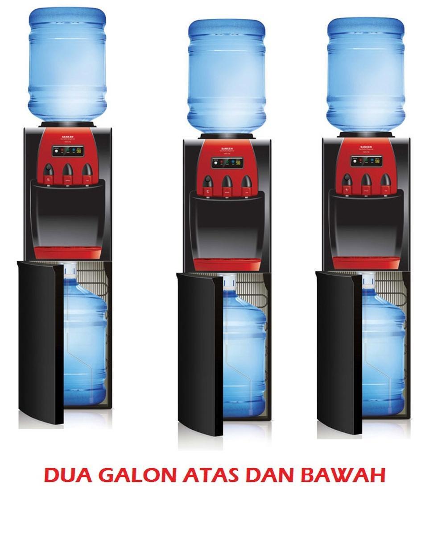 Sanken - Dispenser Duo Galon HWD-Z88 ( Galon Atas Bawah )