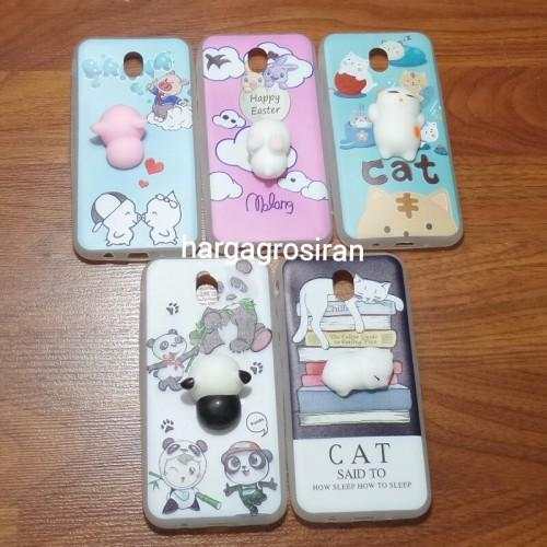 Case Softcase Karakter Skuisy For Samsung Galaxy J6 (2018) (RANDOM) - YG0709